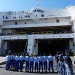 Esercitazione nave / impianto portuale
